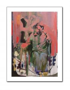 man of hope II, limited edition print, bartosz beda