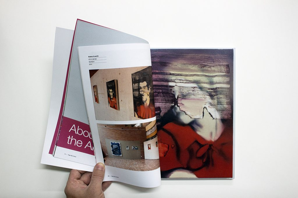 catalog, art book, hear my voice, bartosz beda 8
